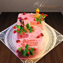 Торт с феями № 421 Д