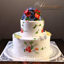 Свадебный торт № 257 С