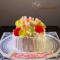 Торт на день рождения № 172 Т
