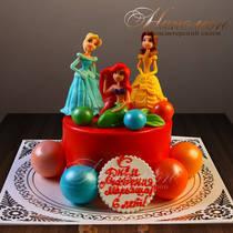 Торт Принцессы № 433 Д
