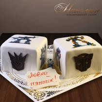 Торт Трансформеры № 442 Д