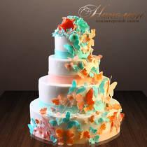 Свадебный торт № 269 С