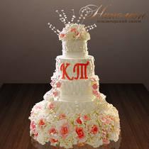Свадебный торт № 271 С