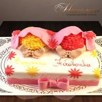 Торт близнецам № 448 Д