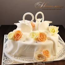 Свадебный торт № 041 С