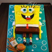 Торт Губка Боб № 457 Д