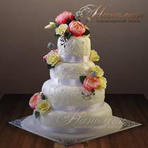 Свадебный торт № 274 С