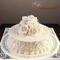 Сливочный свадебный торт № 276 С