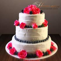 Свадебный торт № 277 С
