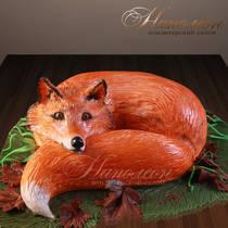 Торт на день рождения Лиса № 182 Т