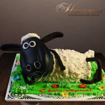 Торт овечка № 183 Т