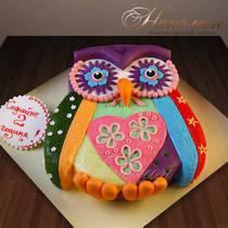 Торт сова № 469 Д