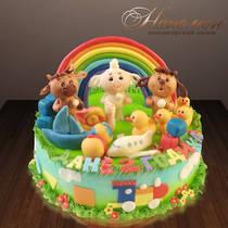 Торт на годик 470 Д
