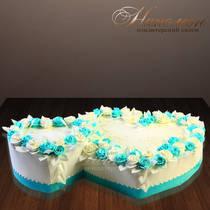 Свадебный торт сердца № 285 С