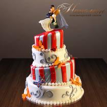 Свадебный торт № 289 С