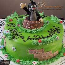 Торт с кротом № 473 Д