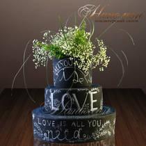 Свадебный торт № 296 С