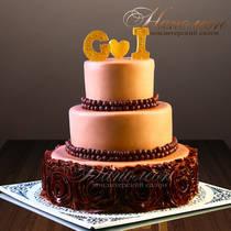 Свадебный торт № 297 С