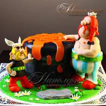 Детский торт Астерикс и Обеликс № 485 Д