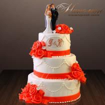 Свадебный торт № 311 С