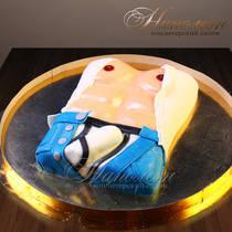 Эротический торт мужской торс 021 Э