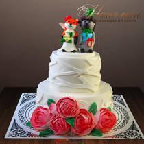 Свадебный торт № 317 С