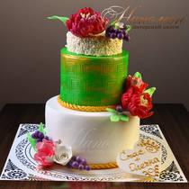 Свадебный торт № 318 С
