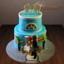 Свадебный торт № 321 С
