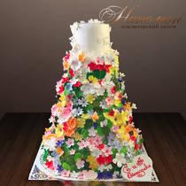 Свадебный торт № 312 С
