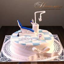 Торт стоматологу № 041 П