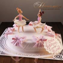 Торт балерины № 519 Д