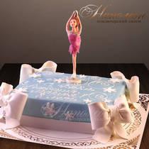 Торт Фигуристка № 520 Д
