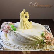Свадебный торт № 324 С
