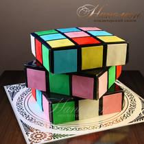 """Оригинальный торт """"Кубик Рубик"""""""
