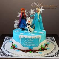 Торт Холодное сердце № 534Д