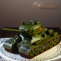 Торт танк 029 ф