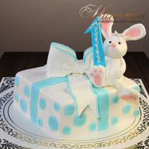 Торт на годик № 557 Д