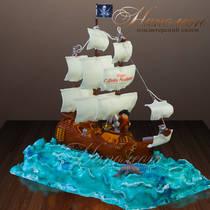Торт корабль № 558 Д