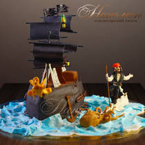 Торт пират № 560 Д