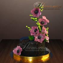 Торт с цветком № 224 Т