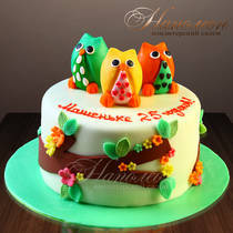 Торт совы № 565 Д
