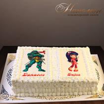 Торт брату и сестре № 568 Д