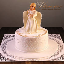 Торт на крестины № 572 Д