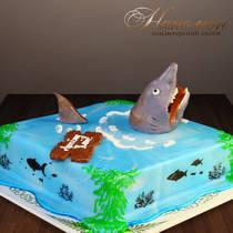 Торт море № 584 Д