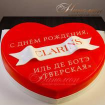 Торт фирменный Clarins № 074 К