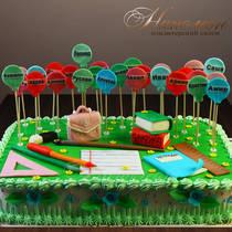 Торт на выпускной № 593 Д