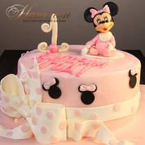 Торт на год девочке № 600 Д