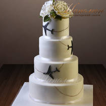 Свадебный торт № 333 С