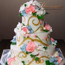 Свадебный торт № 335 С