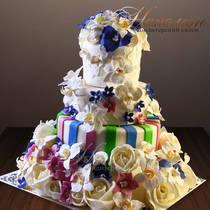 Свадебный торт № 337 С